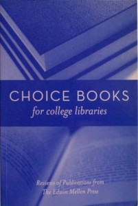 Choice Books for College Libraries