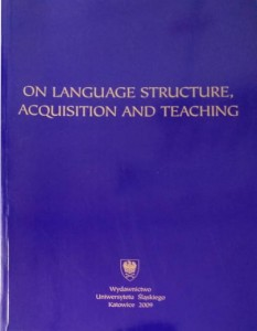 On Language Structure, Acquisition and Teaching