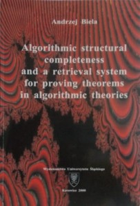 Algorithmic structural completness and a retrieval system for proving theorems in algorithmic theories